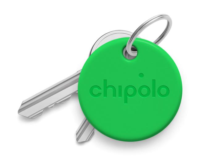 Умный брелок Chipolo ONE со сменной батарейкой зеленый