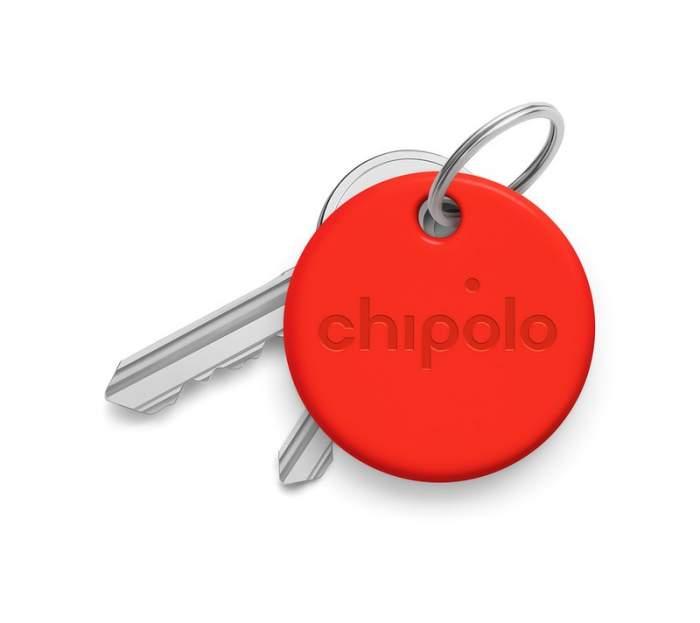 Умный брелок Chipolo ONE со сменной батарейкой красный
