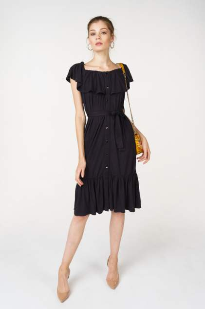 Повседневное платье женское Libellulas 10150 черное 44