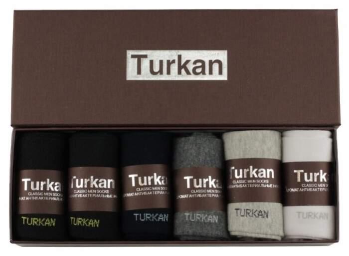 Набор носков мужских Turkan T-551 разноцветных 41-46