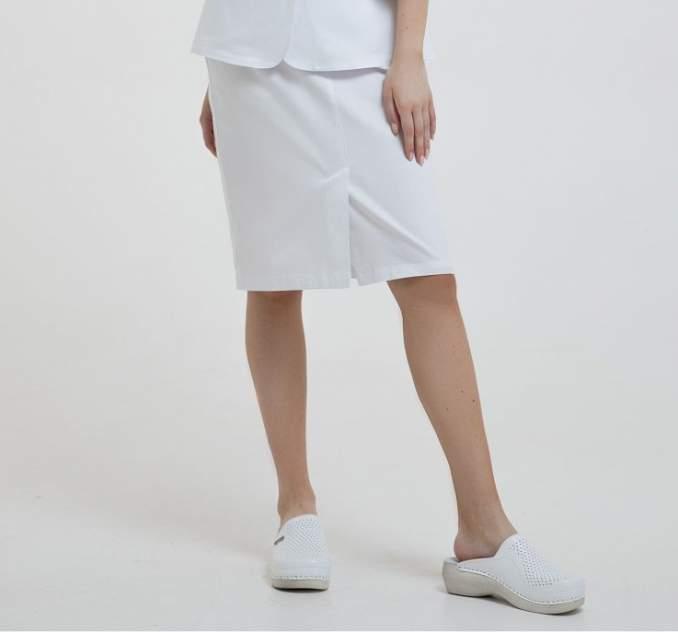 Юбка медицинская женская Med Fashion Lab 03-119-07-023 белая 48-164