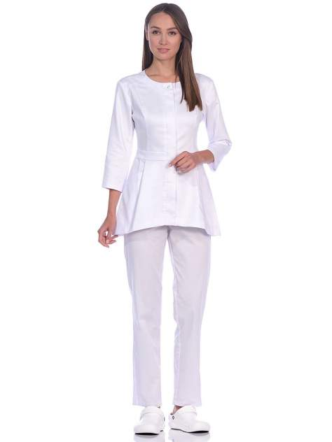 Рубашка медицинская женская Med Fashion Lab 03-717-22-023 белая 42-164