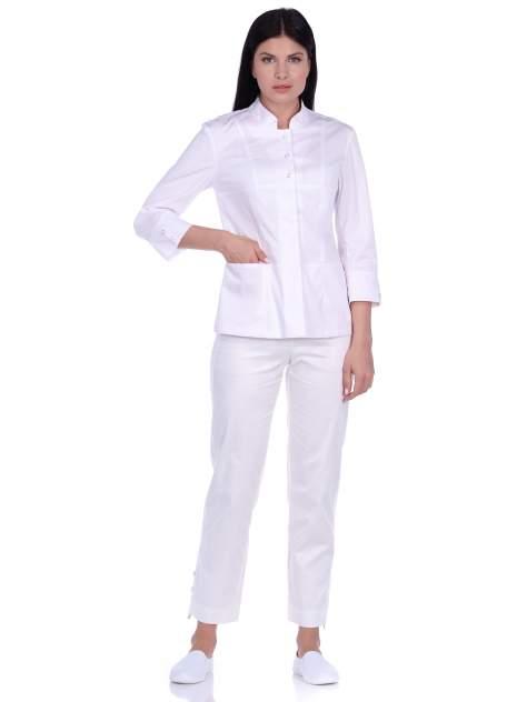 Рубашка медицинская женская Med Fashion Lab 03-735-09-023 белая 56-176