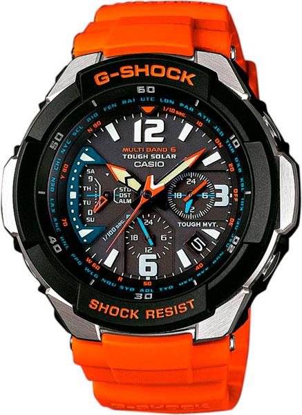 Японские наручные часы Casio G-SHOCK GW-3000M-4A с хронографом