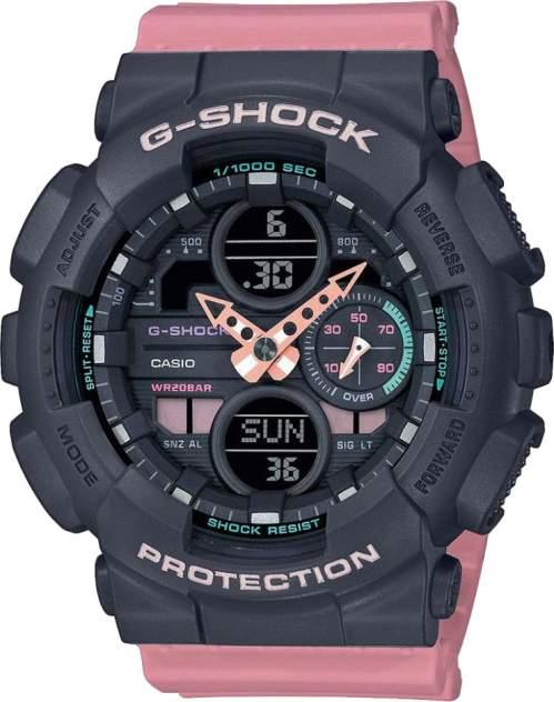 Японские наручные часы Casio G-SHOCK GMA-S140-4AER с хронографом