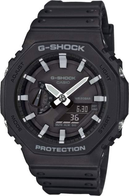 Японские наручные часы Casio G-SHOCK GA-2100-1AER с хронографом