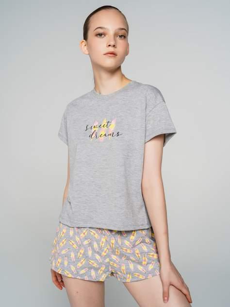 Пижама женская ТВОЕ 71669 серая M