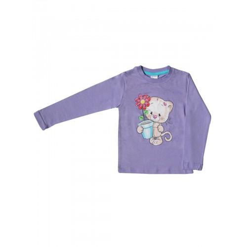 Джемпер для девочек Bella veza, цв. фиолетовый, р-р 98