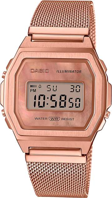 Наручные часы кварцевые женские Casio A1000MPG