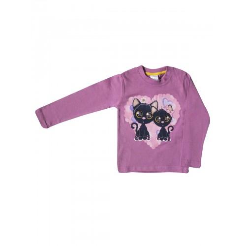 Джемпер для девочек Bella veza, цв. фиолетовый, р-р 104