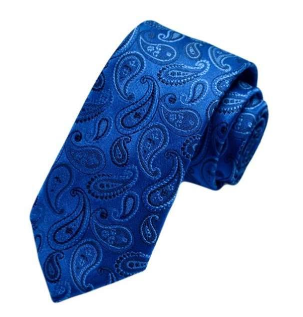 Галстук мужской 2beMan G06 синий