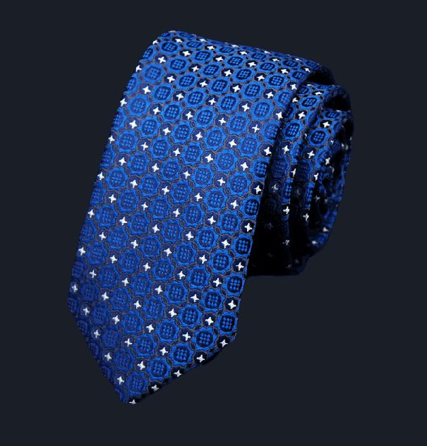 Галстук мужской 2beMan G29 синий