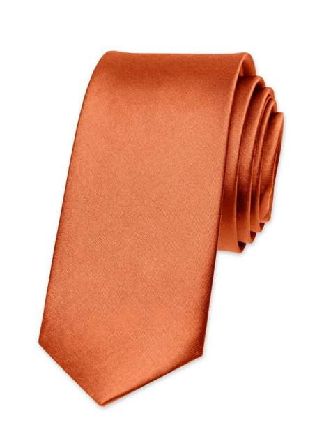 Галстук мужской 2beMan G35 оранжевый