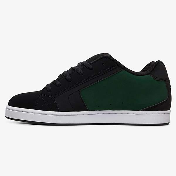 Кеды DC Net, black/black/green, 10 US