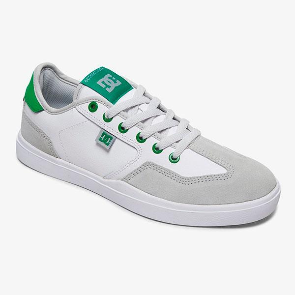 Кеды DC Vestrey, white/grey/green, 10 US