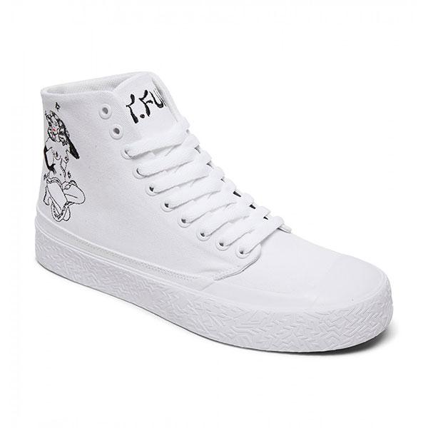 Кеды DC T-funk Hi S X Tati, white/black, 12 US