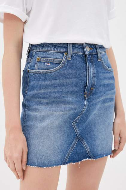 Женская юбка Tommy Jeans DW0DW08150, голубой