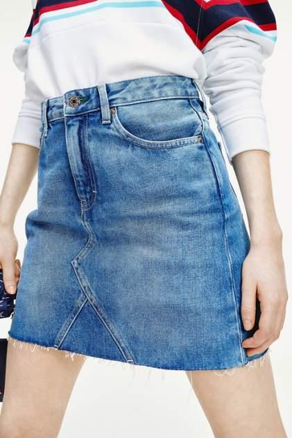 Женская юбка Tommy Jeans DW0DW08292, голубой