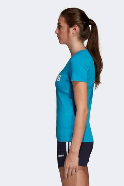 Футболка женская Adidas DU0630 голубая 2XS