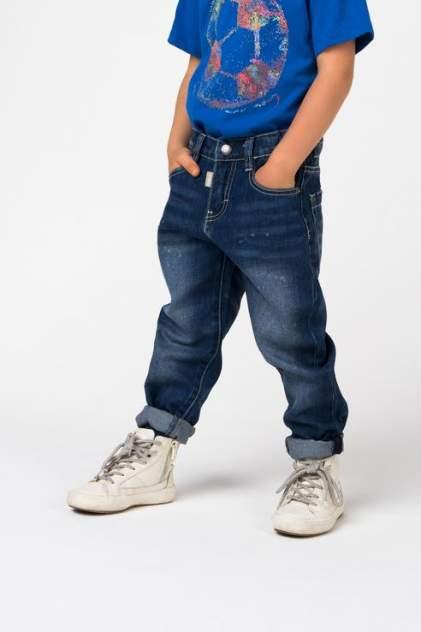 Джинсы для мальчика Gulliver, цв.синий, р-р 104