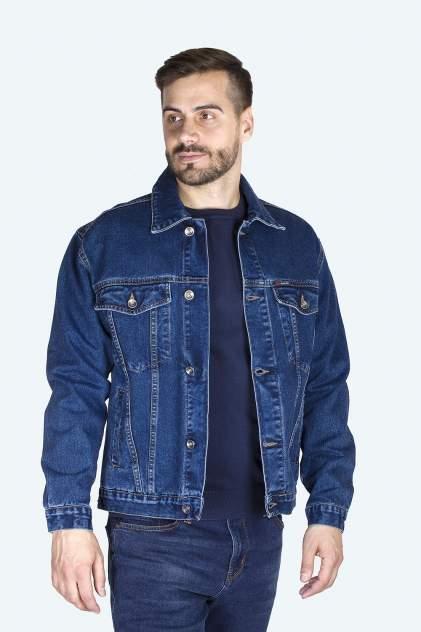 Джинсовая куртка мужская Dairos GD5060502 синяя XL