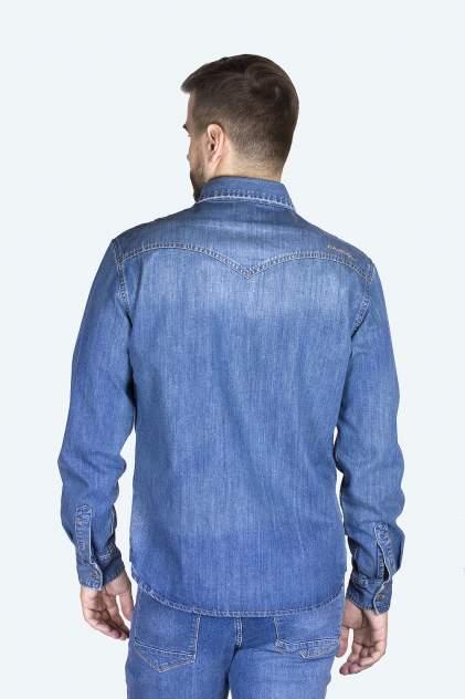 Джинсовая рубашка мужская Dairos GD5080100 синяя M