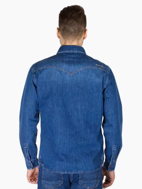 Джинсовая рубашка мужская Dairos GD5080101 синяя L
