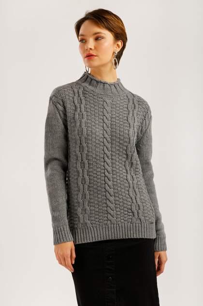 Свитер женский Finn-Flare W19-12126 серый XL