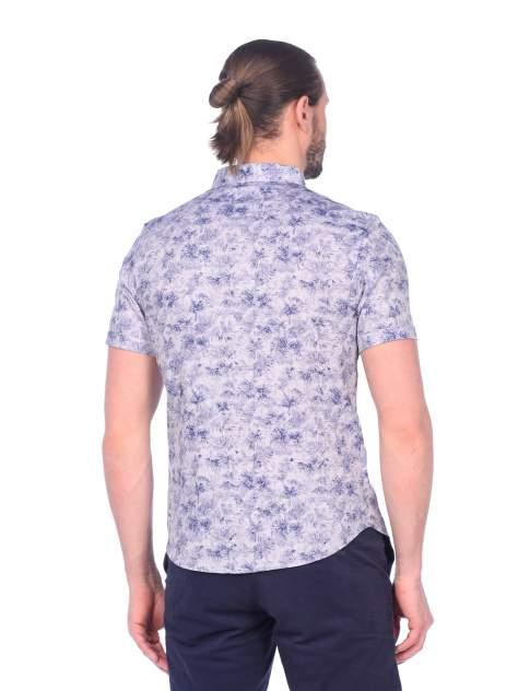 Рубашка мужская DAIROS GD81100400 синяя 2XL