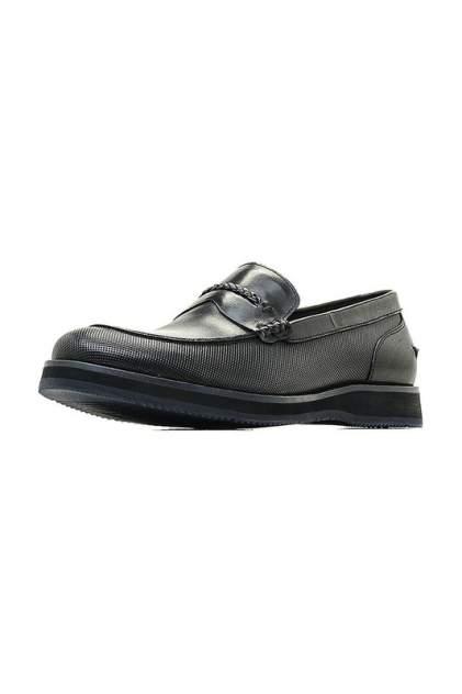 Лоферы мужские M.SHOES 530002111 черные 42 RU