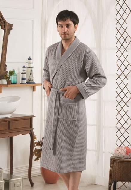 Домашний халат мужской Karna Bailie серый 3XL