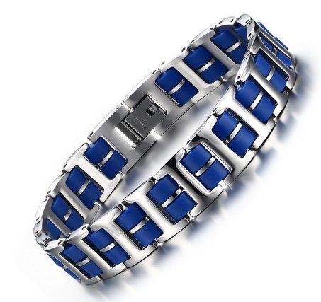 Браслет мужской 2beMan MB204 синий