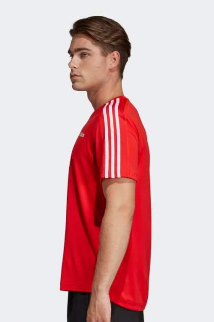 Футболка мужская Adidas DU1244 красная 40-42