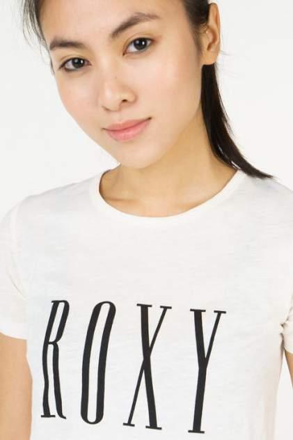 Футболка женская Roxy ERJZT04349-WBT0 белая L