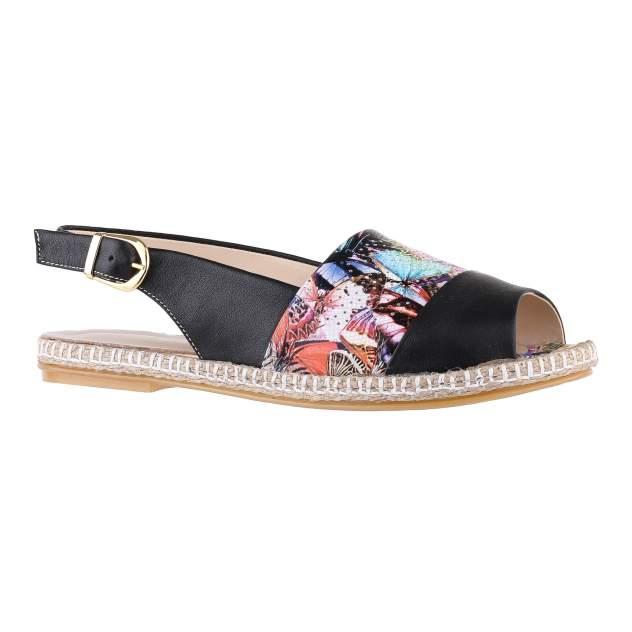 Эспадрильи женские Shoes Market 484-175-1350-01-ESP-2 черные 38 RU
