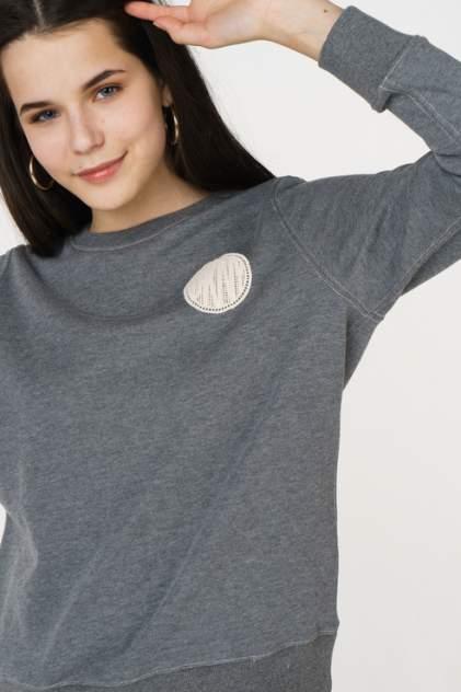 Свитшот женский DKNY P8FH0BDI/HGR серый 46