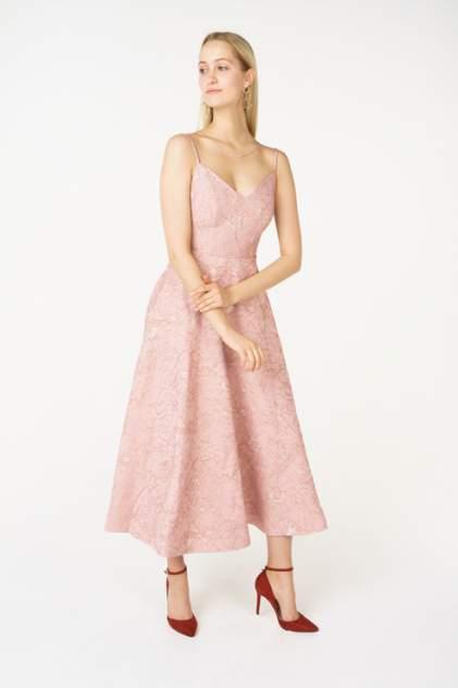 Вечернее платье женское АДЛ 12434280000 розовое L