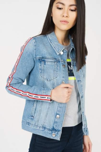 Джинсовая куртка женская Tommy Jeans DW0DW05924 синяя L