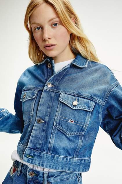 Джинсовая куртка женская Tommy Jeans DW0DW08291 голубая L