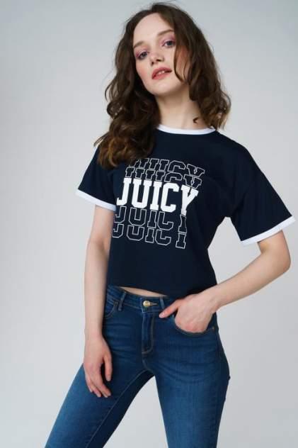 Футболка женская Juicy Couture JWTKT120893/419 синяя L