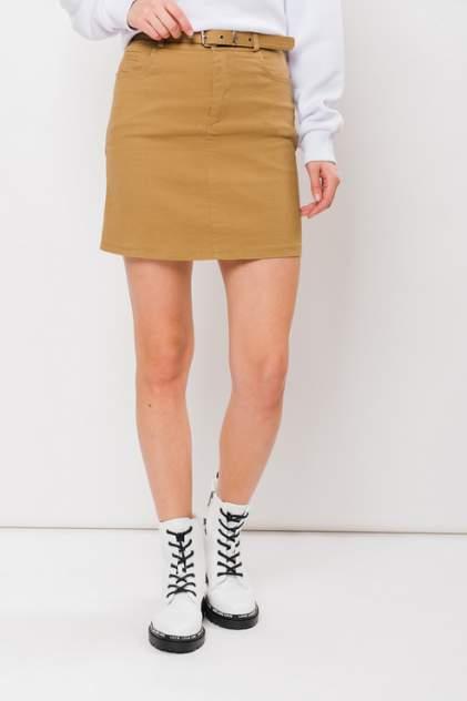 Женская юбка ELARDIS El_W1007, коричневый