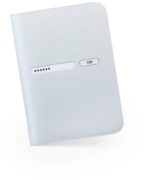 Обложка для паспорта «Пароль» Студия Артемия Лебедева V003646 белый