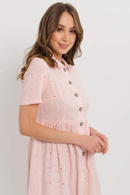 Повседневное платье женское ELARDIS El_W10342 розовое L