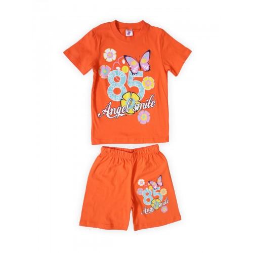 Костюм детский Веселый Супер Слоненок, цв. оранжевый р.110