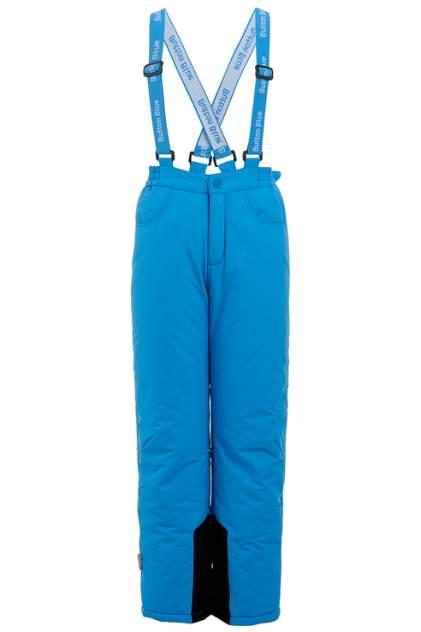 Брюки утепленные для мальчика Button Blue, цв.синий, р-р 122