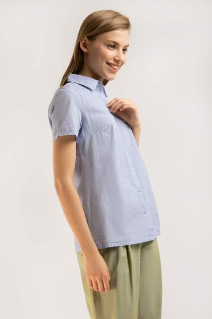 Блузка женская Finn-Flare B20-11032 голубая XL