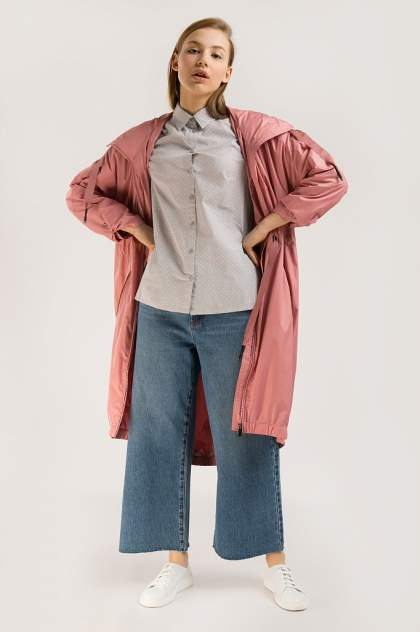 Блузка женская Finn-Flare B20-11032 серая XL