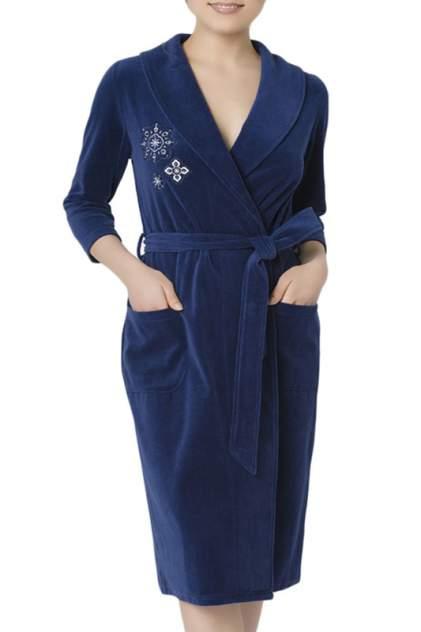 Халат женский Nic Club INSEGNE 1904 синий XL