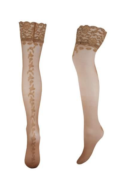 Чулки женские Trasparenze CEFALONIA (AUT) коричневые 1-2 IT