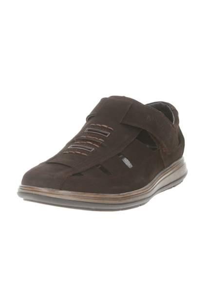 Сандалии мужские MARCO TREDI MR01-19-41270 коричневые 44 RU